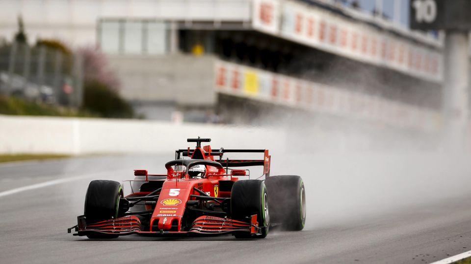 Motorsports: FIA Formula One World Championship, WM, Weltmeisterschaft 2020, Preseason Testing in Barcelona, 5 Sebastia