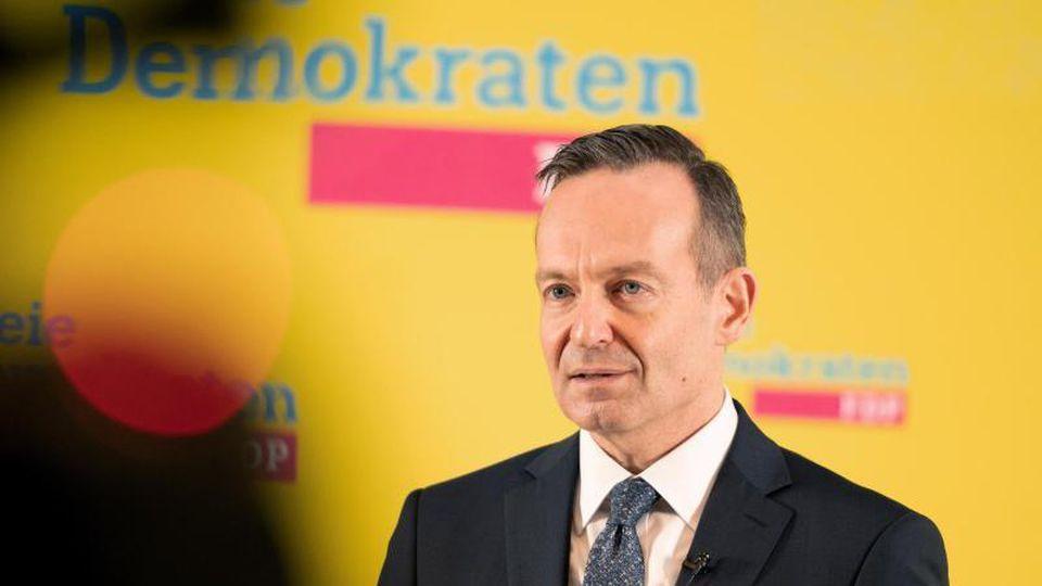 Volker Wissing, FDP-Generalsekretär, spricht. Foto: Gregor Bauernfeind/dpa