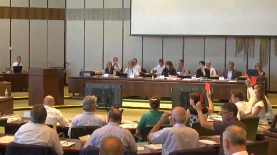 Die AfD hat bei ihrer ersten Abstimmung im Ludwigshafener Stadtrat am Montagnachmittag ein Eigentor erzielt.
