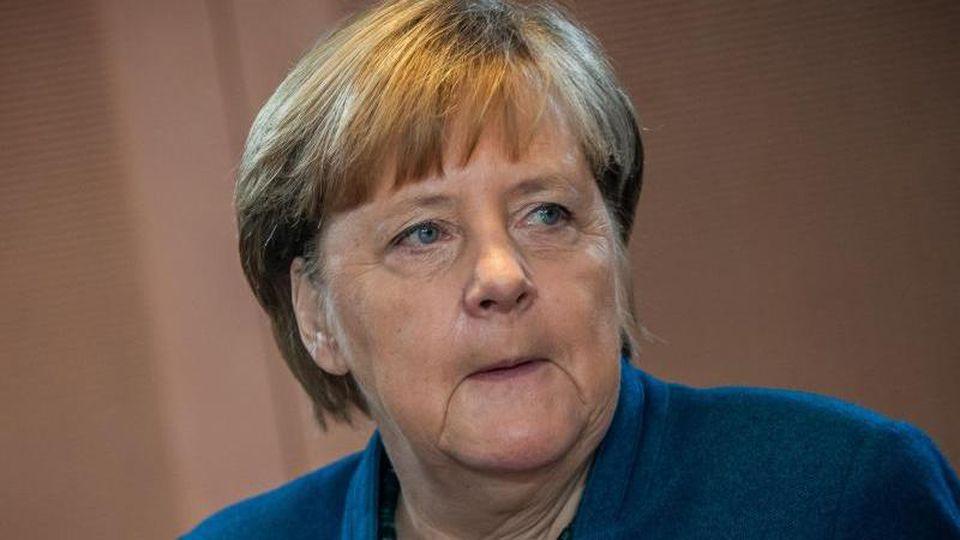 Bundeskanzlerin Angela Merkel (CDU). Foto: Michael Kappeler/dpa/Archivbild