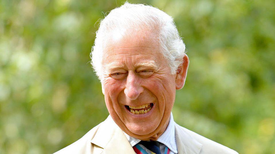 Prinz Charles bei einem Auftritt in Alrewas