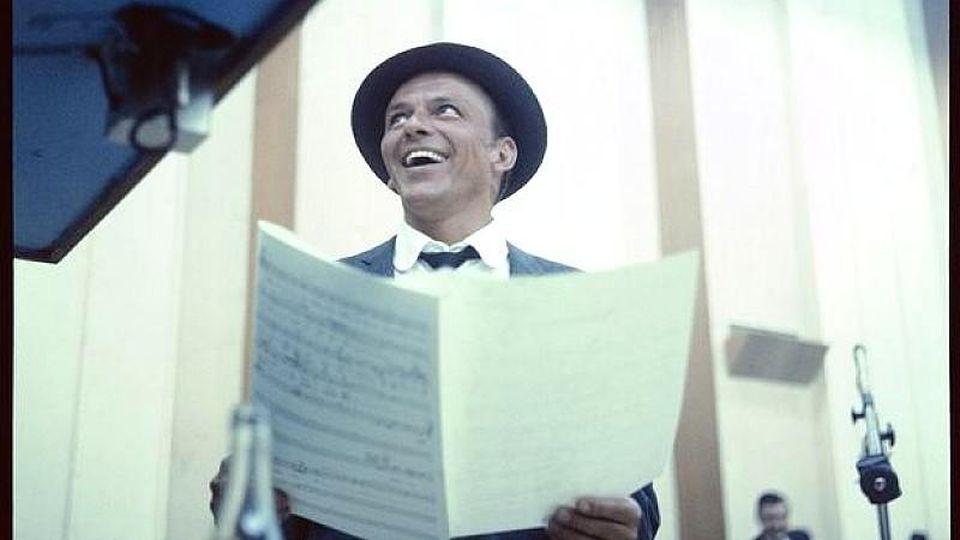 Frank Sinatra im Studio