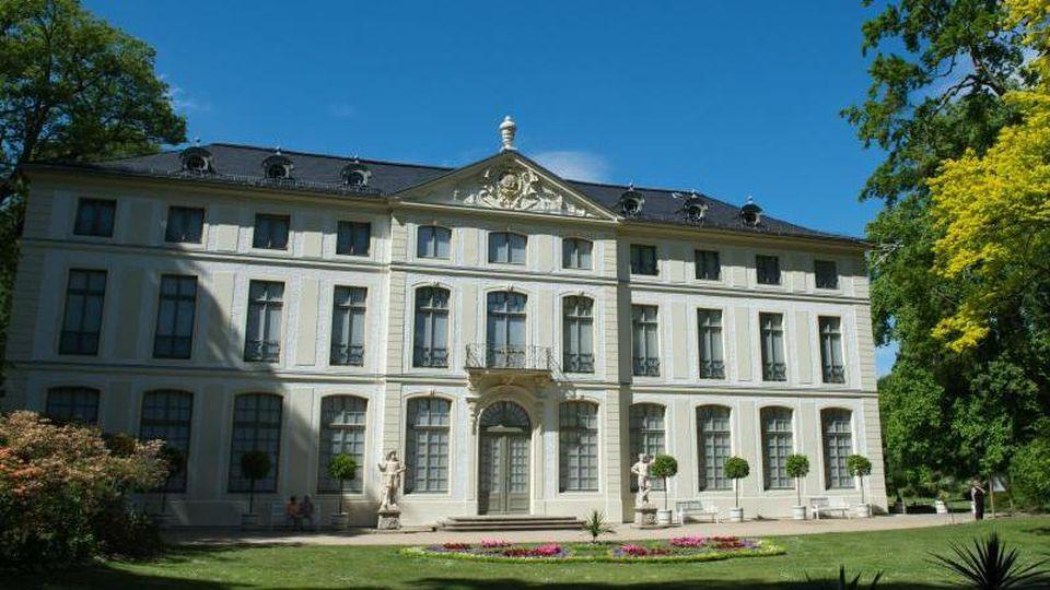 Das Sommerpalais im Greizer Park. Foto: Sebastian Kahnert/zb/dpa/Archivbild