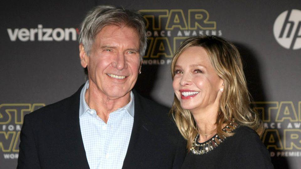 Harrison Ford und Calista Flockhart sind ein echtes Traumpaar.