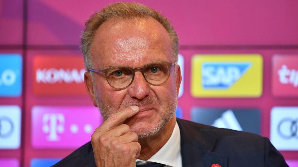 Kommt dem Wunsch von Renato Sanches nach: Bayerns Vorstandschef Karl-Heinz Rummenigge