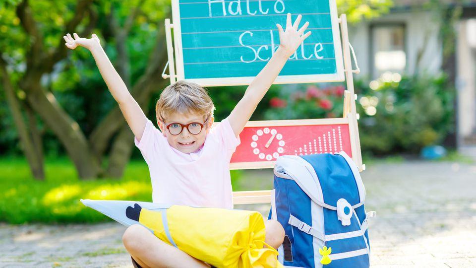 Der erste Schultag ist für jedes Kind etwas Besonderes
