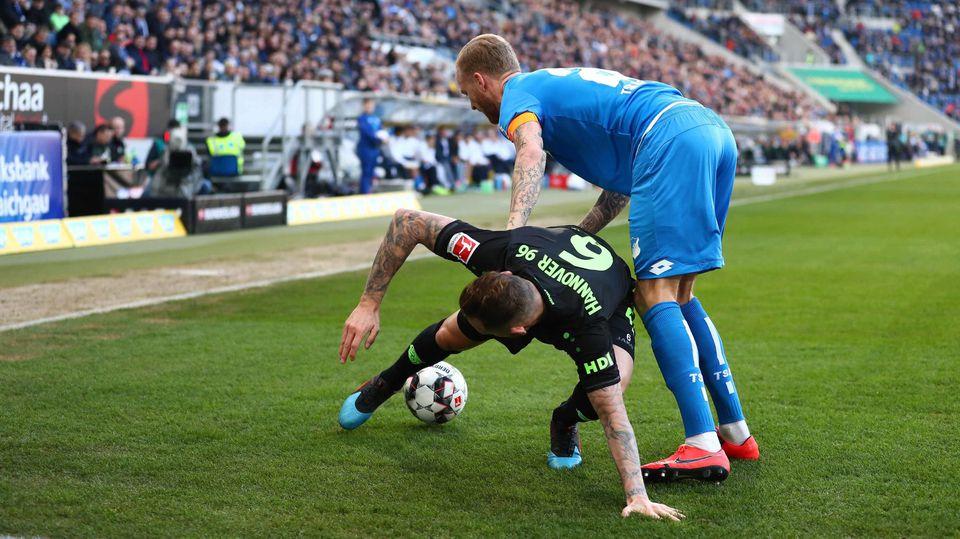 Hannover taumelt dem Abstieg entgegen