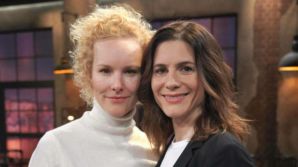 Bereits seit zwei Jahren verheiratet: Christina Hecke (r.) und Stefanie Henn
