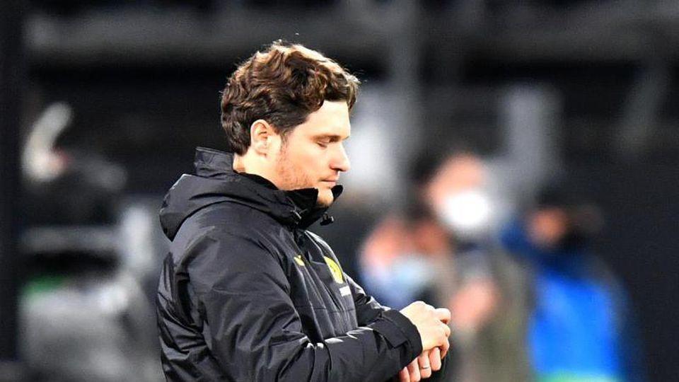 Dortmunds Trainer Edin Terzic. Foto: Martin Meissner/AP-Pool/dpa