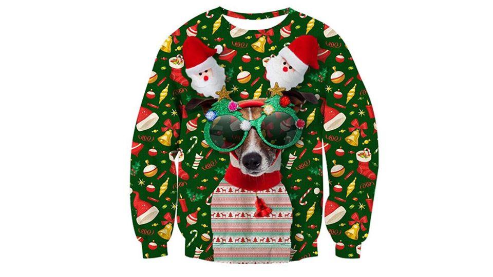 Wau! Was für ein grausamer Ugly Sweater