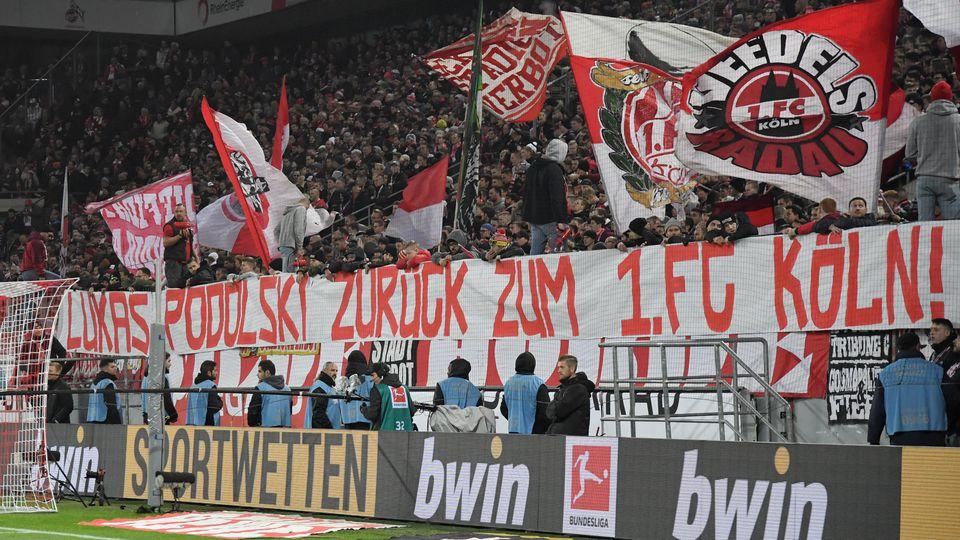 Fans fordern Lukas Podolski
