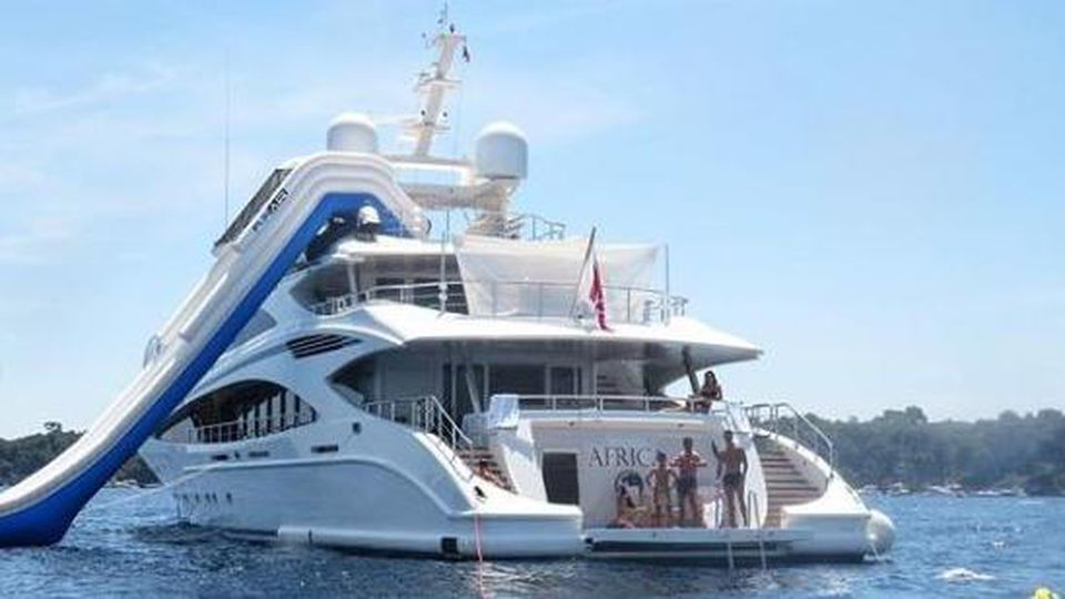 CR7 Yacht