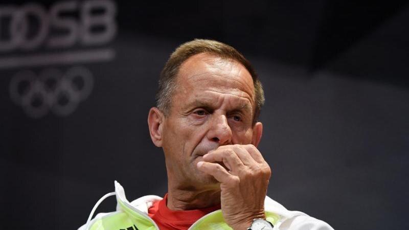 Alfons Hörmann wird sein Amt als Präsident des Deutschen Olympischen Sportbundes (DOSB) aufgeben. Foto: Ina Fassbender/AFP Pool/dpa
