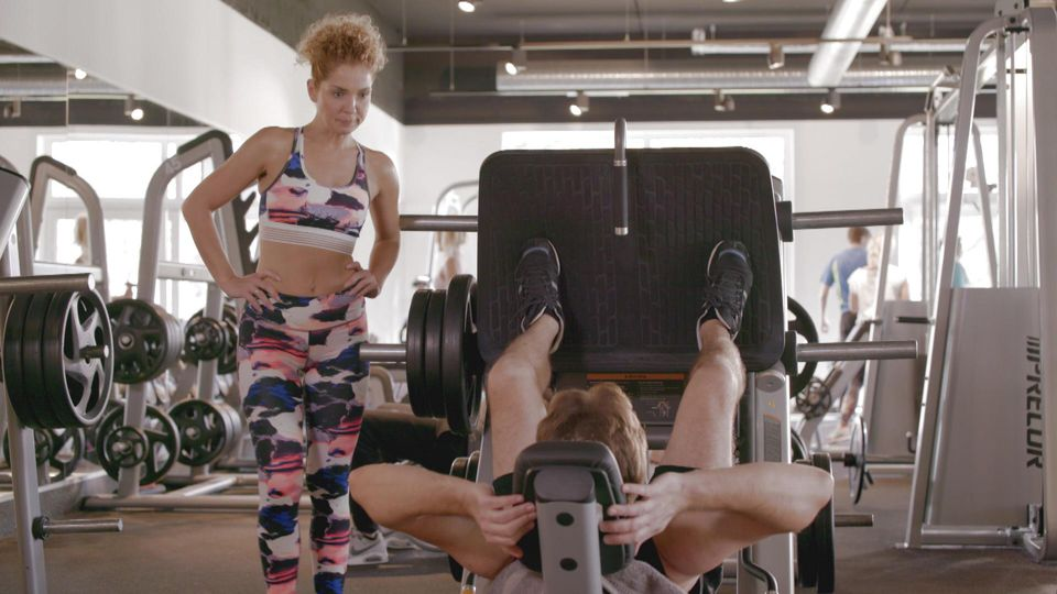 Bei GZSZ geht Nina ins Fitnessstudio. Schauspielerin Maria Wedig ist hingegen ein echter Sport-Muffel.