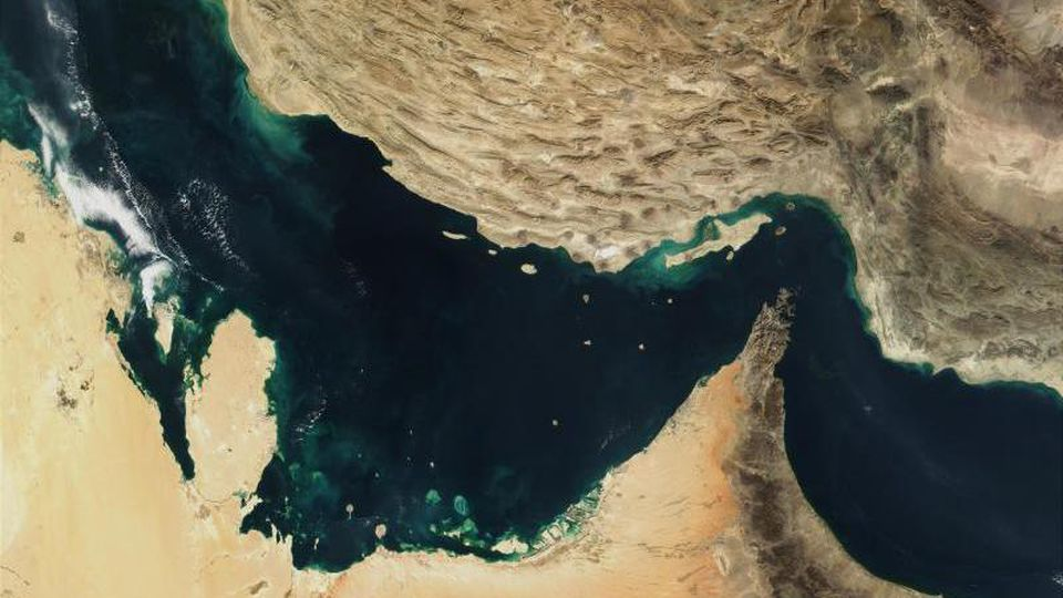 Die Straße von Hormus. Foto: The Visible Earth/NASA
