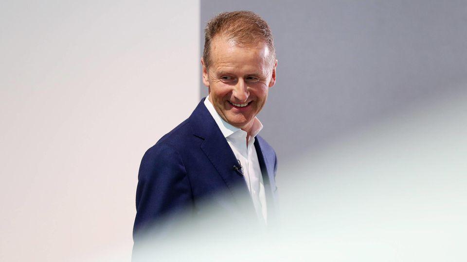 VW-Vorstandsvorsitzender Herbert Diess.