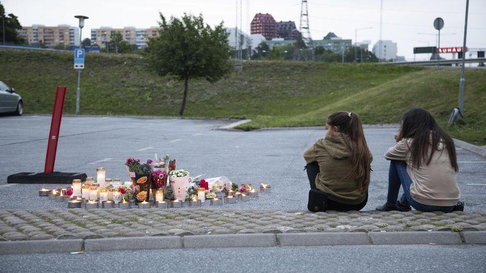 Mädchen in Schweden erschossen