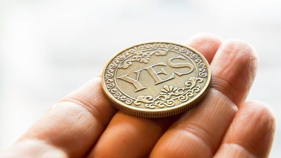 Eine Münze über das eigene Leben entscheiden lassen? Gar nicht so eine schlechte Idee.