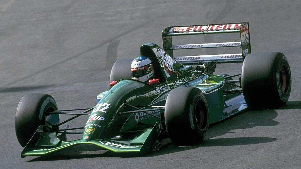 Michael Schumacher im Jordan 191
