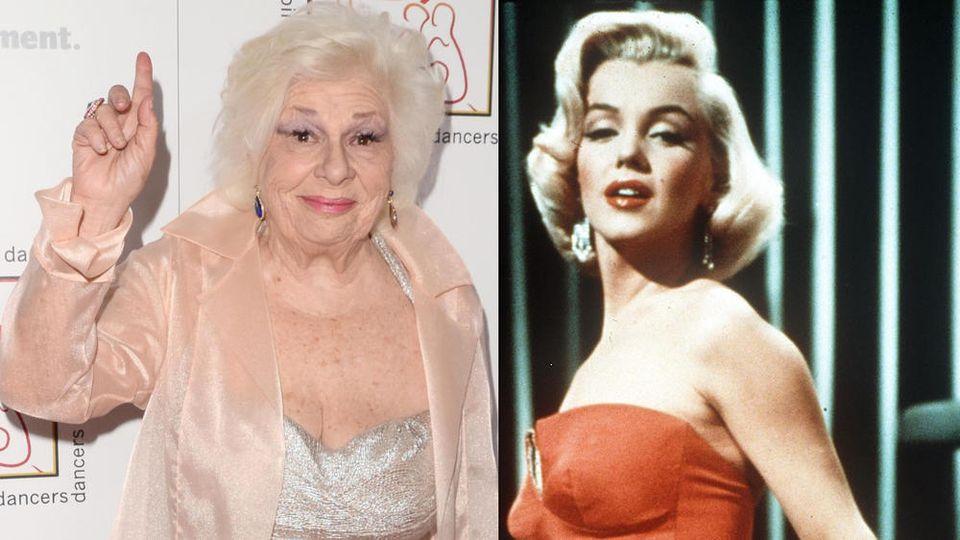 Marilyn Monroes (r.) Tipp funktionierte bei Renée Taylor (l.) nicht besonders gut