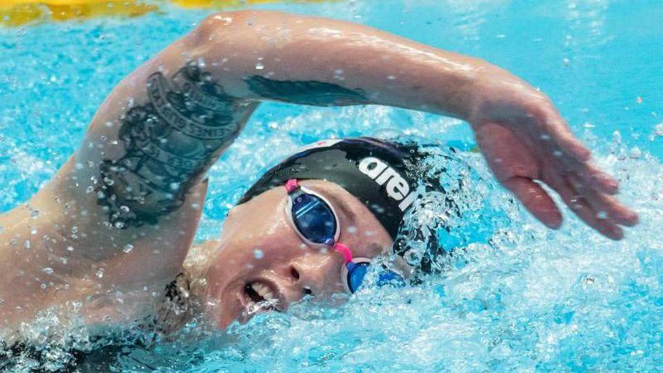 Hat mit einem deutschen Rekord souverän das WM-Finale über 1500 Meter erreicht: Sarah Köhler. Foto: Bernd Thissen