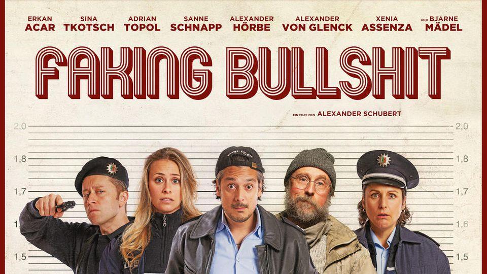 """""""Faking Bullshit - Krimineller als die Polizei erlaubt"""" kommt am 10. September in die deutschen Kinos."""