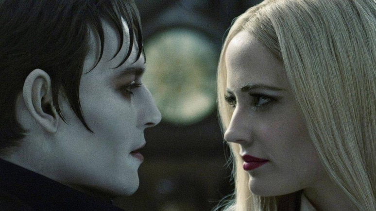"Johnny Depp und Eva Green in ""Dark Shadows"""