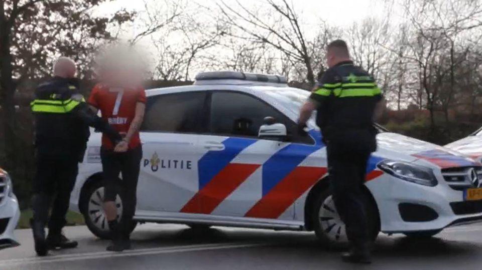 Niederländische Polizei nimmt Verdächtigen nach mutmaßlichem Gefängniseinbruch fest.