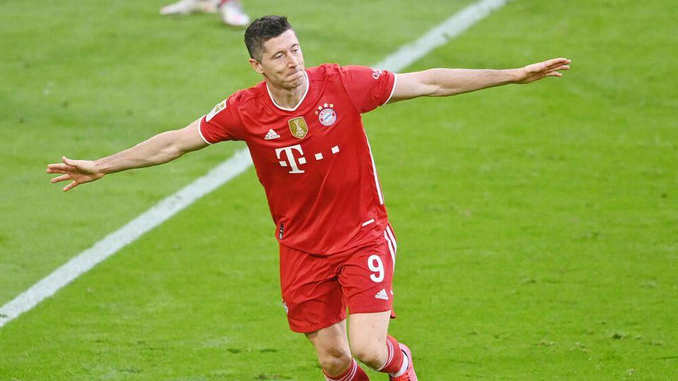 Im letzten Spiel der Saison kommende Woche kann Robert Lewandowski den Müller-Rekord sogar noch brechen.