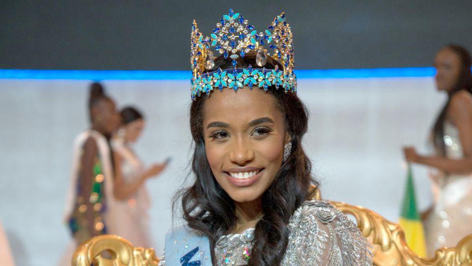 Toni-Ann Singh ist bereits die vierte Miss World aus Jamaika