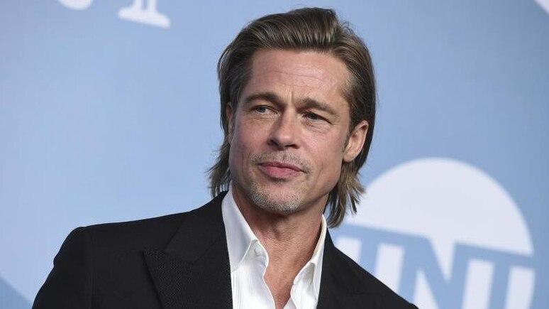 """Brad Pitt steht für den Film """"Babylon"""" vor der Kamera. Foto: Jordan Strauss/Invision/AP/dpa"""