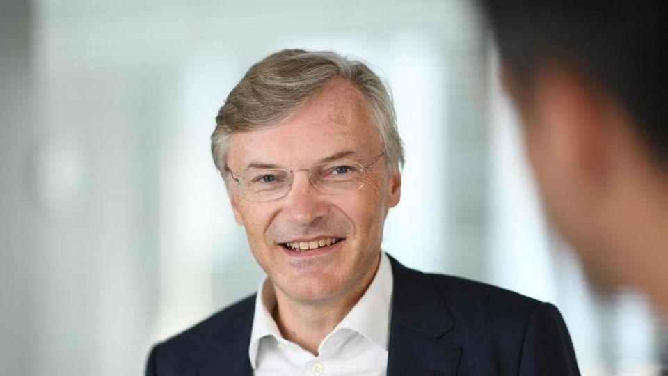 Wolf-Henning Scheider, Vorstandsvorsitzender der ZF Friedrichshafen AG. Foto: Felix Kästle/dpa/Archivbild