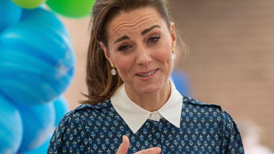 Herzogin Kate sprich über ihr Nesthäkchen Prinz Louis (2).
