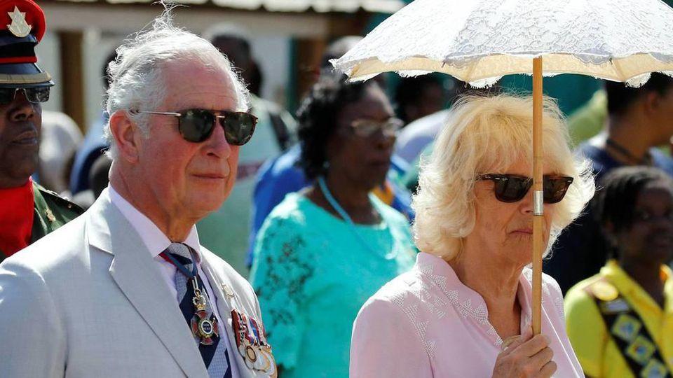 Prinz Charles und seine Herzogin Camilla nehmen sich während ihrer Karibik-Tour eine kurze Auszeit