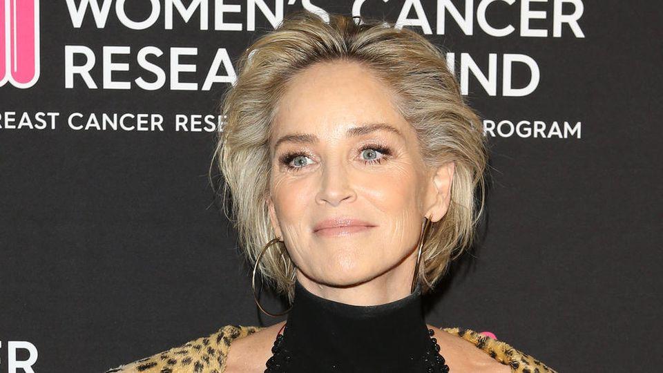 Sharon Stone bei einem Auftritt in Beverly Hills.