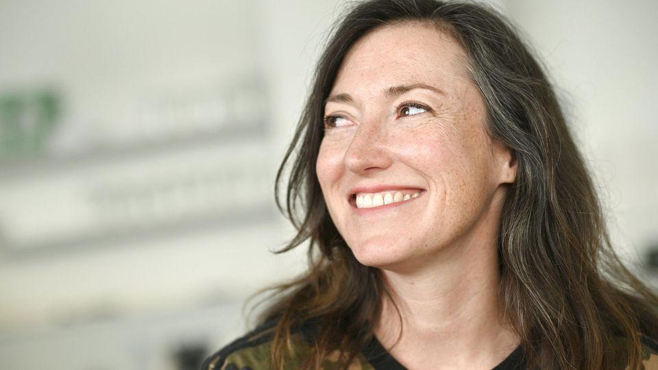 Autorin Charlotte Roche zeigt ihren Mann: Martin Keß.
