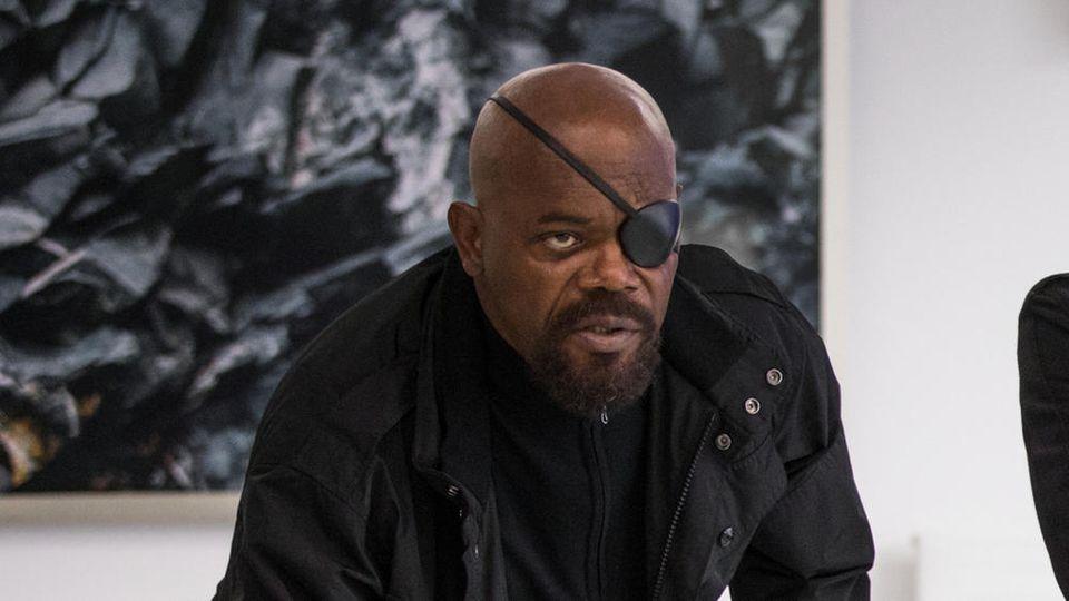 """Nick Fury (Samuel L. Jackson) soll in """"Secret Invasion"""" ebenfalls mit an Bord sein"""