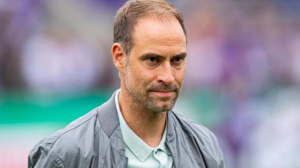 RB Leipzigs Geschäftsführer Oliver Mintzlaff. Foto: Guido Kirchner/dpa/Archivbild