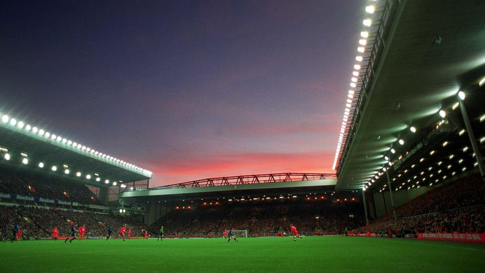 Football - Anfield sunset