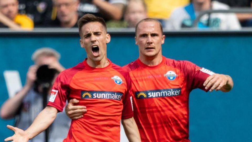 Der SC Paderborn steigt direkt in die Bundesliga auf. Foto: Robert Michael