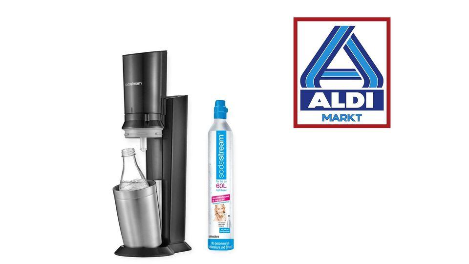 Ab dem 9. Juli gibt es bei Aldi Nord wieder einen SodaStream.