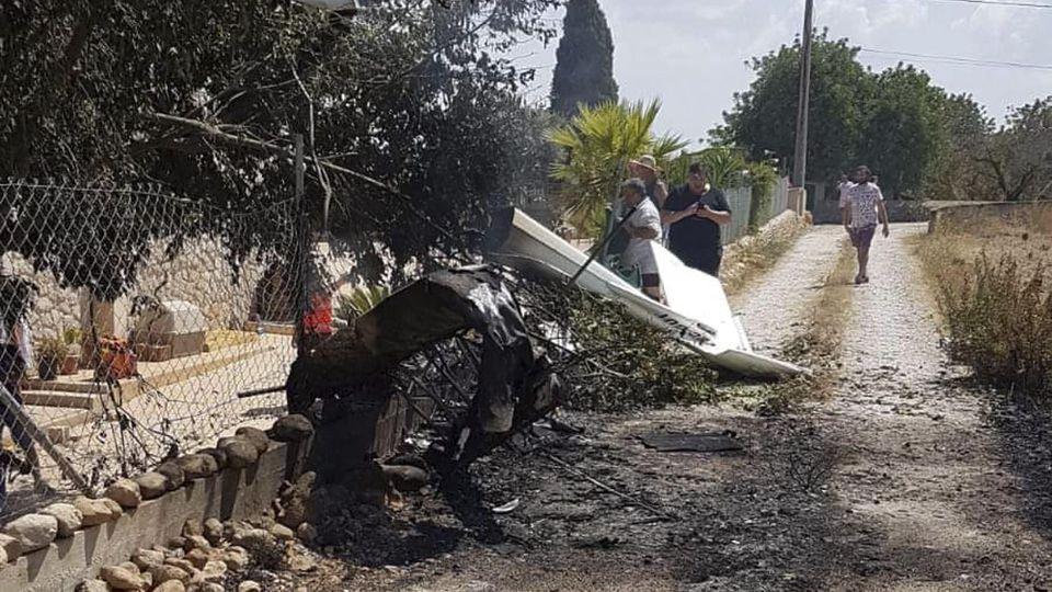 Horror-Crash von Flugzeug und Helikopter über Mallorca - sieben Tote