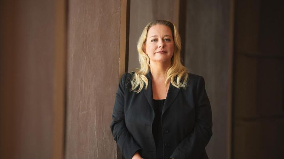 Die künstlerische Leiterin und Geschäftsführerin der Bayreuther Festspiele, Katharina Wagner. Foto: Nicolas Armer/dpa/Archivbild