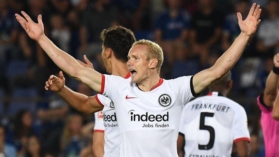 22 08 2019 xjhx Fussball UEFA Europa League Quali Racing Strassburg Eintracht Frankfurt emspor