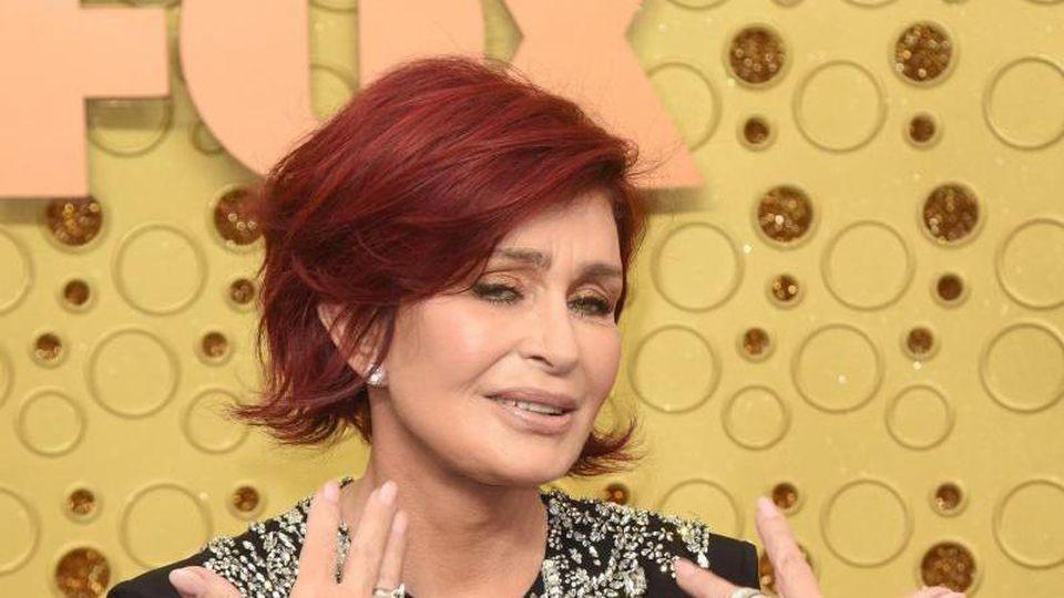 Sharon Osbourne bei der Emmy-Verleihung 2019. Foto: Kathy Hutchins/ZUMA Wire/dpa