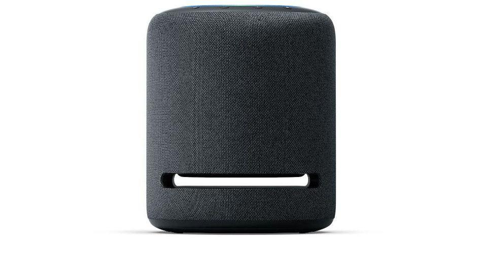 So sieht der neue vernetzte Lautsprecher Echo Studio aus, den Amazon für knapp 200 Euro anbietet.