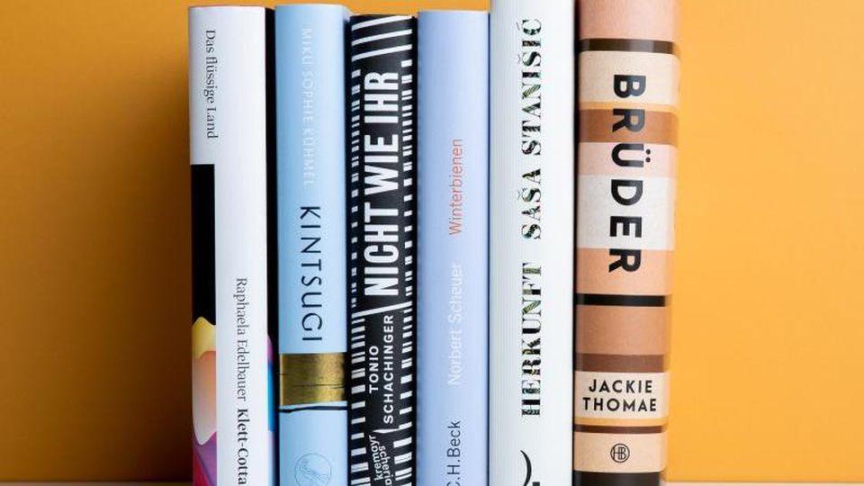 Sechs Bücher sind für den Deutschen Buchpreis nominiert. Foto: Vntr.media/Börsenverein