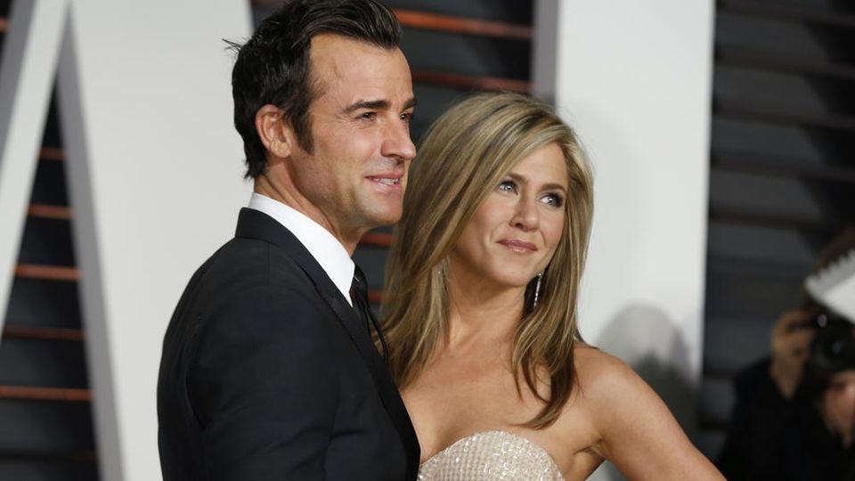 Justin Theroux und Jennifer Aniston gaben sich 2015 das Jawort. Die Ehe hielt keine drei Jahre.