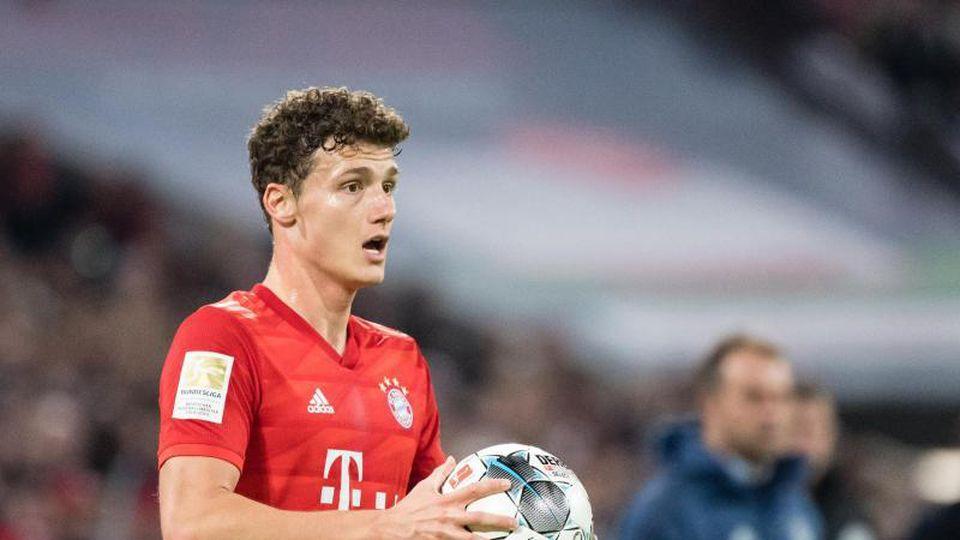 Benjamin Pavard vom FC Bayern München. Foto: Matthias Balk/dpa/Archivbild
