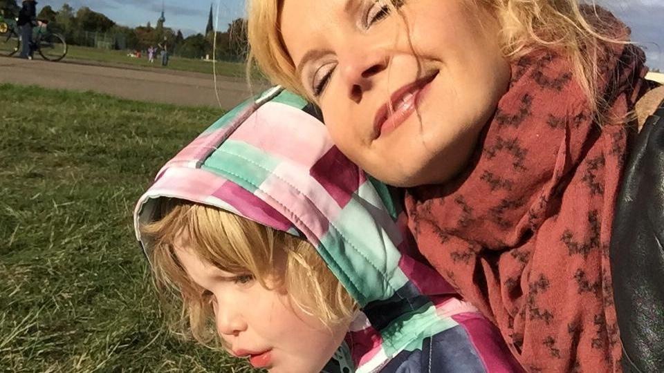 Eva Imhof mit Tochter